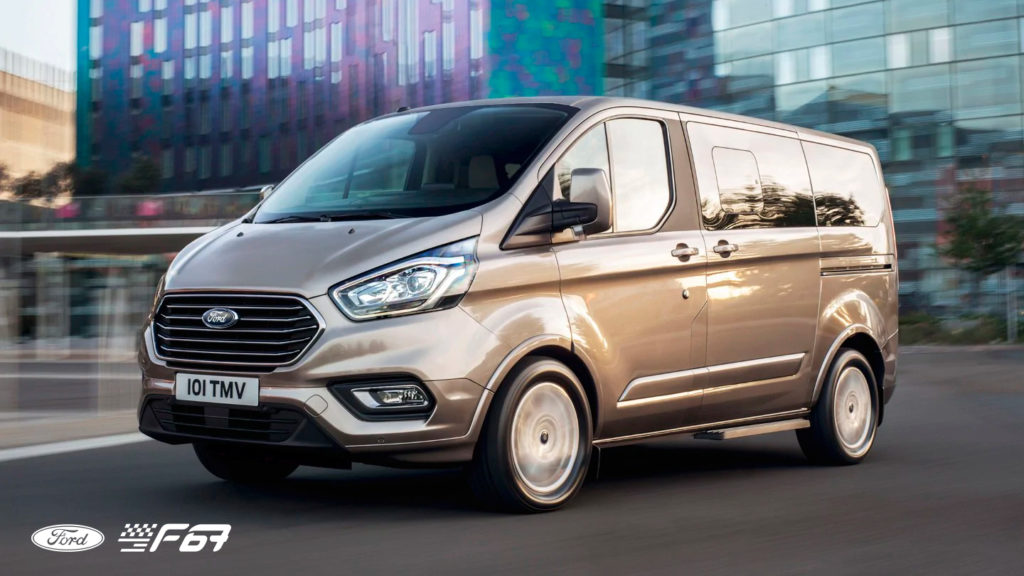9místný Ford Tourneo Custom