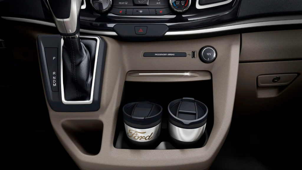 středový panel Ford Custom