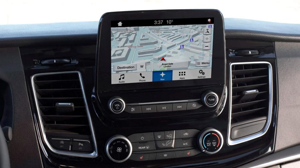 navigace Ford Tourneo Custom