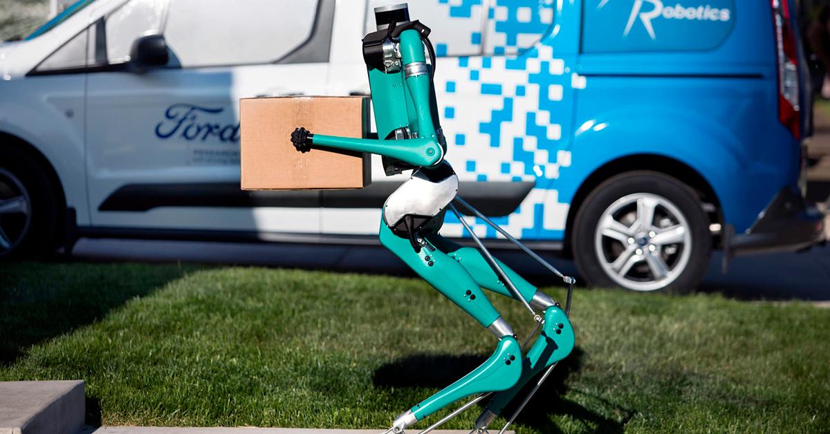 dvounohý robot Digit