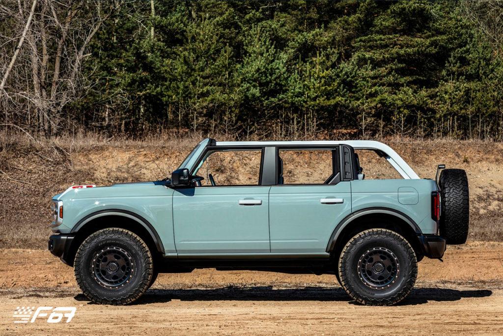 Nový model Ford Bronco 2021 3dvéřový