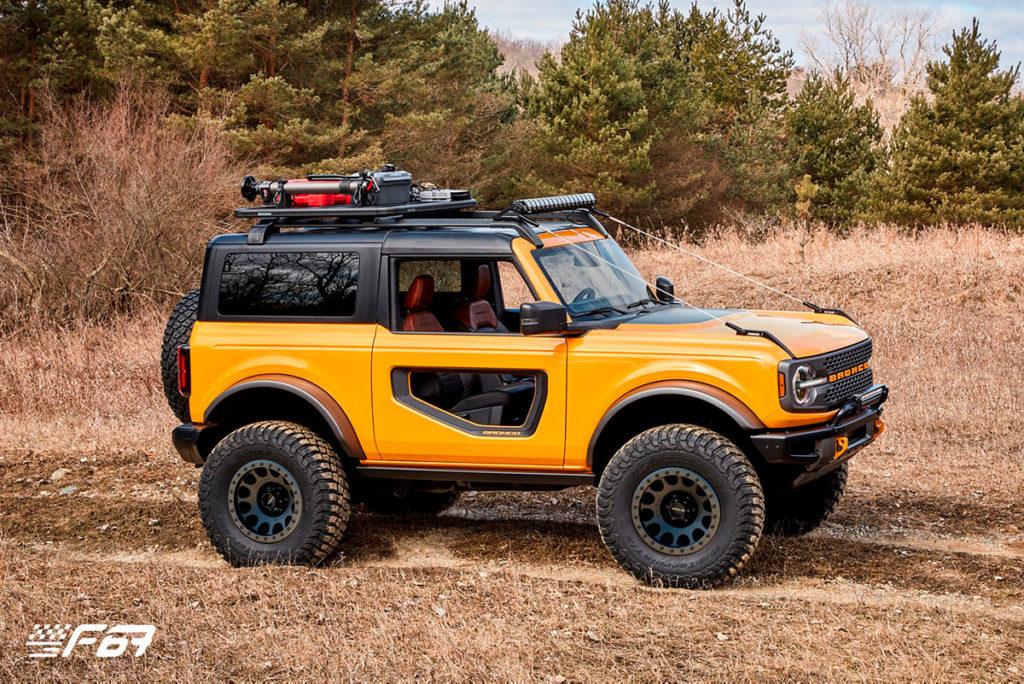 Nový model Ford Bronco 2dvéřový