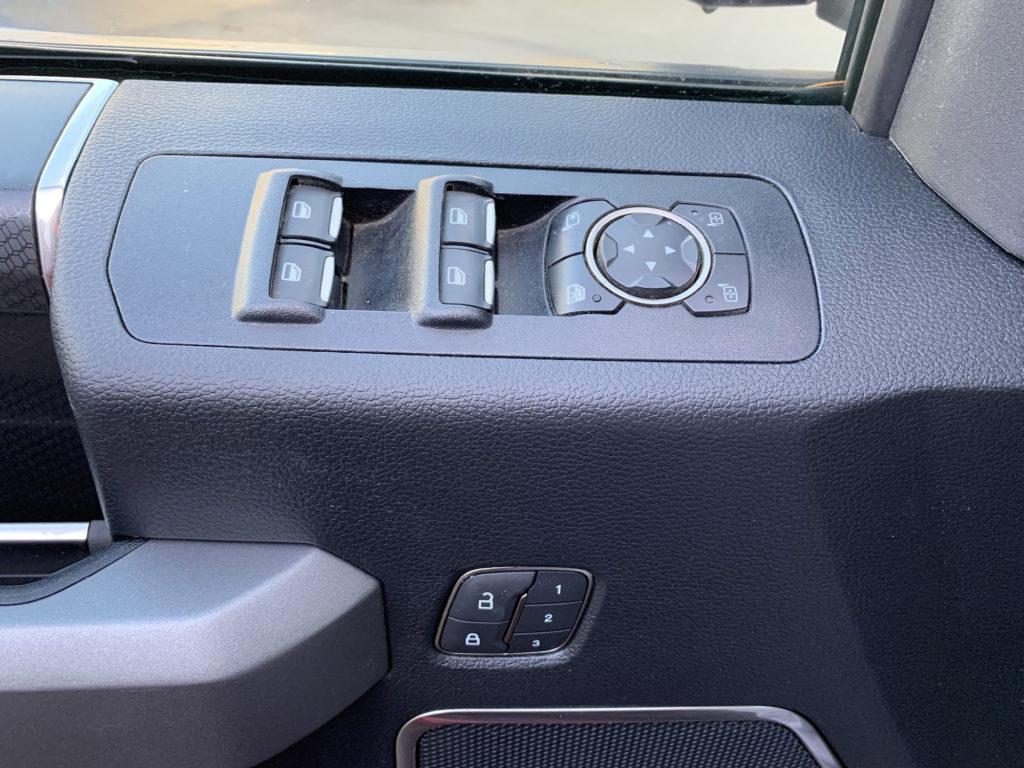F 150 Raptor elektrické ovládání oken