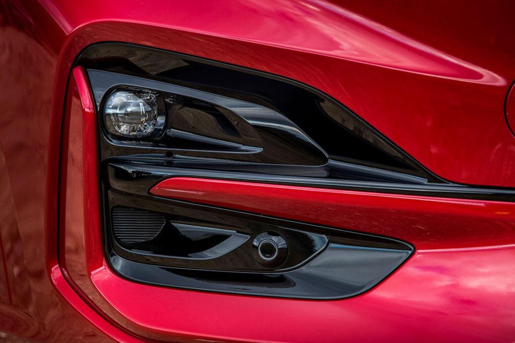 Nová Kuga 2020 hybrid detail světla