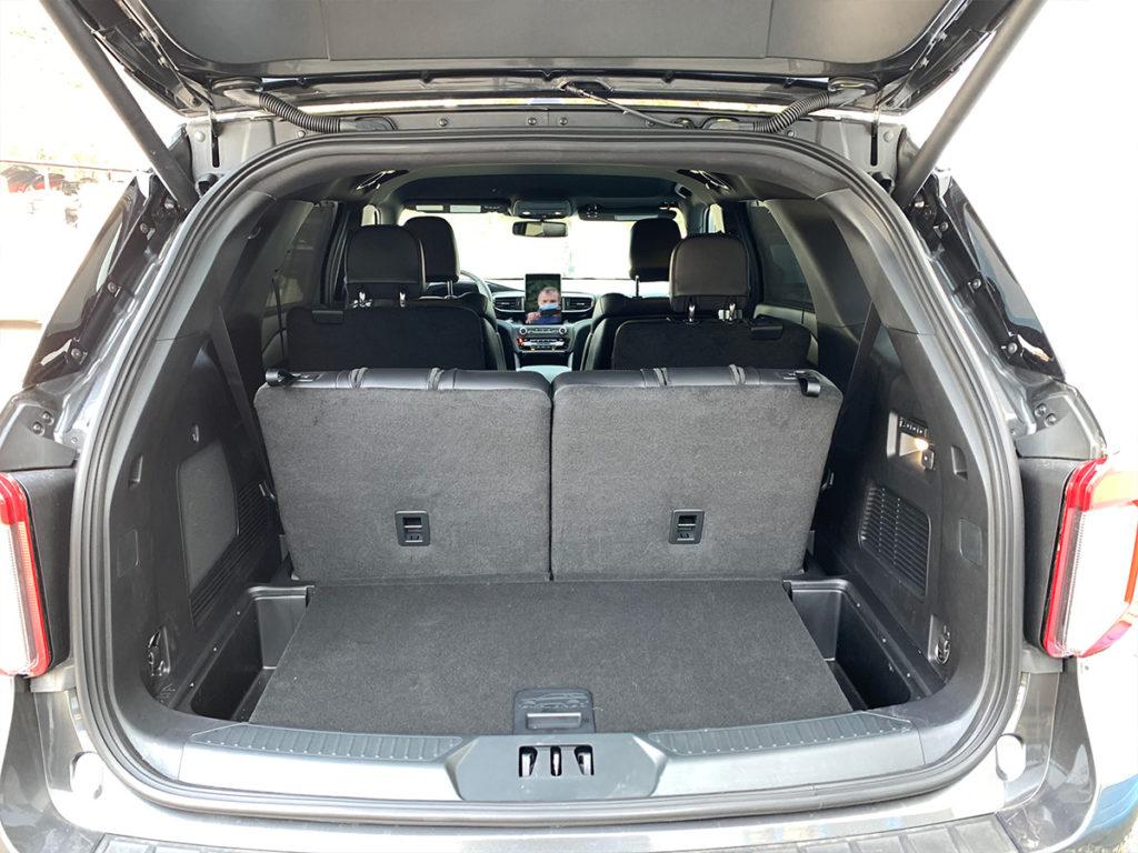 Ford Explorer zavazadlový prostor